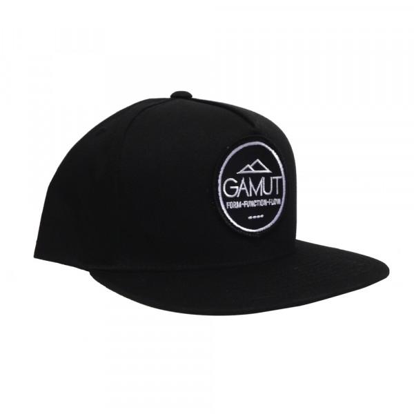 Snap Back Cap - schwarz