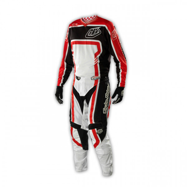 GP Air Kombo Trikot + Hose - Factory Black Red