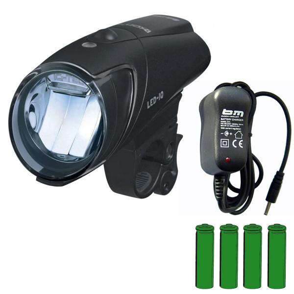 IXON IQ Akkuscheinwerfer + Akkus + Ladegerät