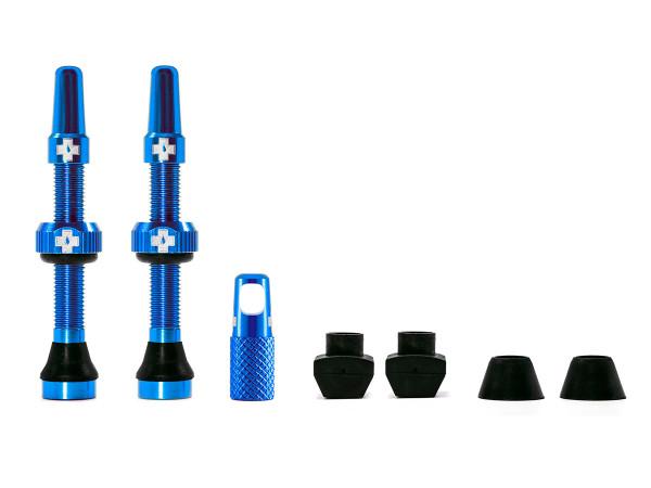 Ventile für Tubeless Reifen - Blau - Mtb & Road