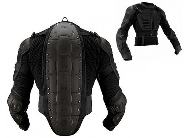 Assault Jacket Protektorenjacke - schwarz