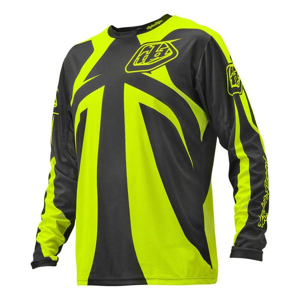 Sprint Jersey Reflex Dark Gray/Flo Yellow