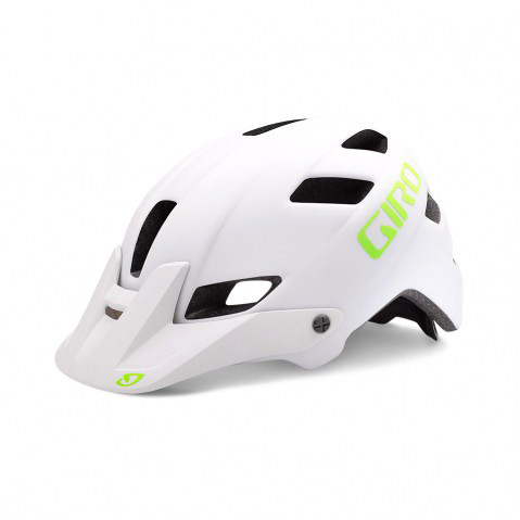 Feature Mips Helm - matte white/lime