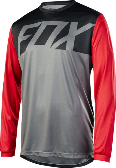 Ranger LS Jersey - graphite red