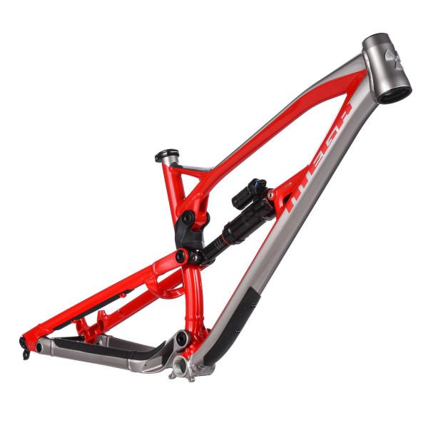 Mega 275 Rahmen - Red/Silver - 2018