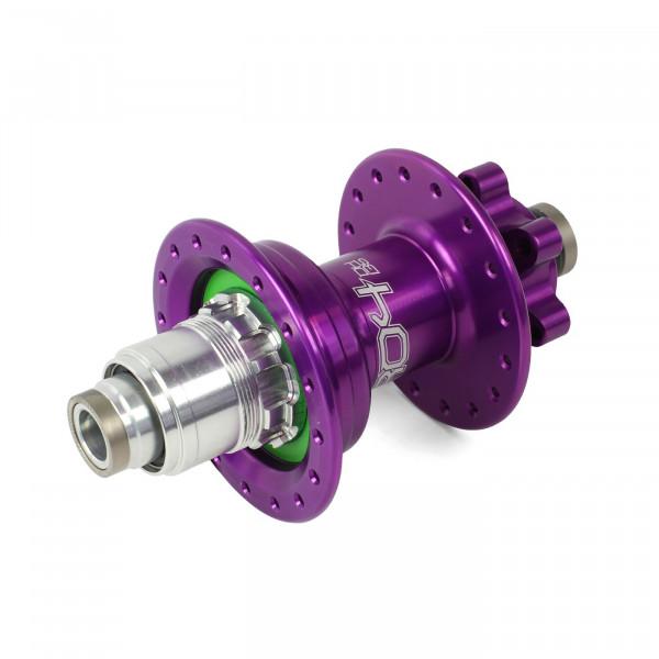 Pro 4 DH Hinterradnabe purple 32 Loch - XD-Freilauf - 7-fach
