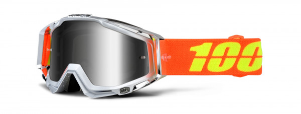 Racecraft Airstream Goggle - mirror silver