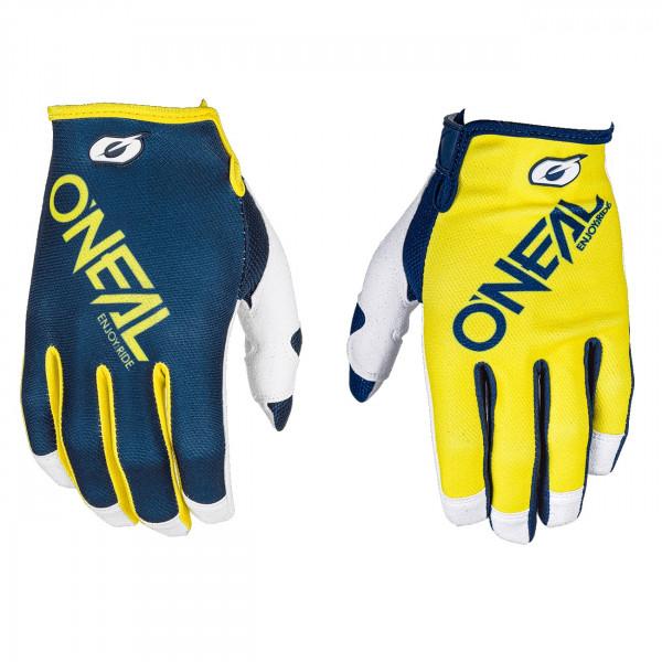 Mayhem Two-Face Glove Handschuh - blue/yellow - 2018