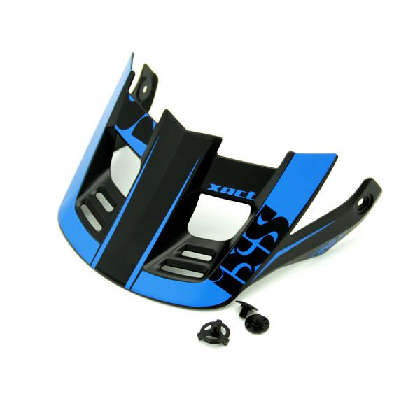 """Ersatzvisier + Pins """"Xact"""" S-XL - Schwarz/Blau"""