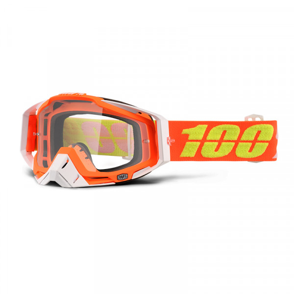 Racecraft Goggle Anti Fog Clear Lens - Razmataz