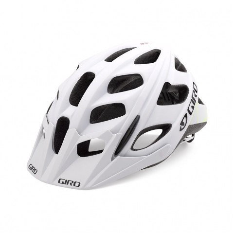 Hex Helm - matte white/lime