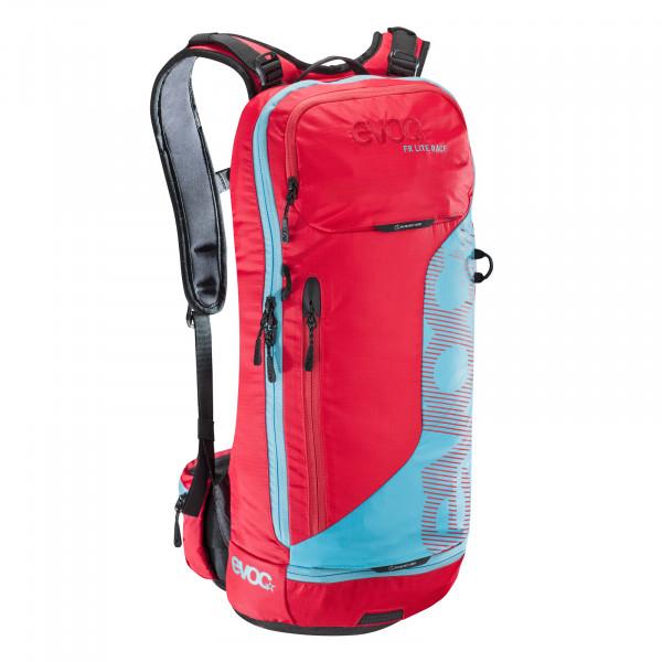 FR Lite Race 10l Protektor Rucksack - red/neon blue