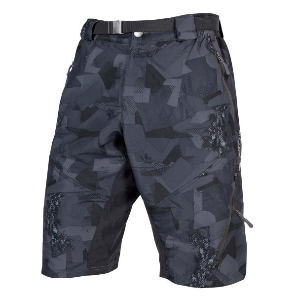 Hummvee Shorts ll - Grau Camo