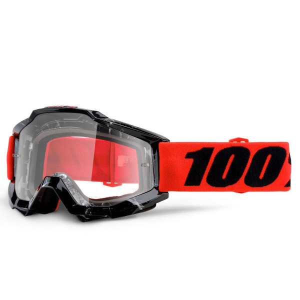 Accuri MX Goggle - Inferno Cyan Clear Lens