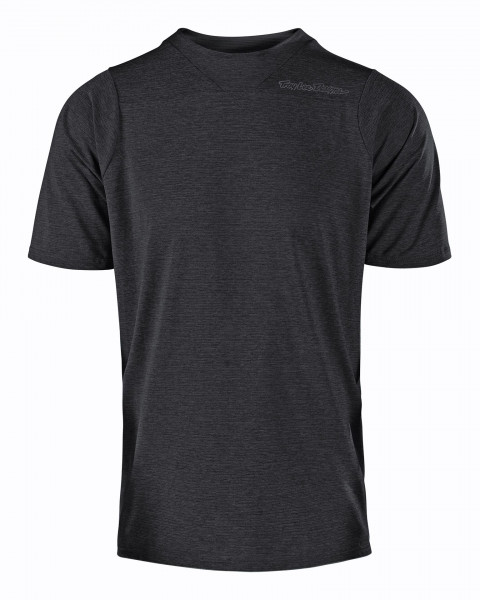 Skyline S/S Jersey - Heather Black