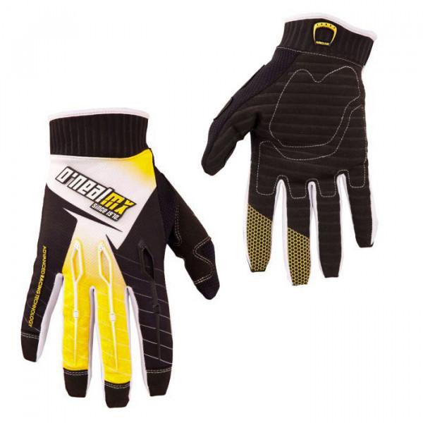Ryder Glove Handschuh - black/yellow