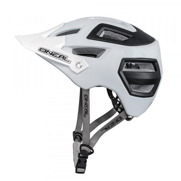 Pike Helm - matt white/black
