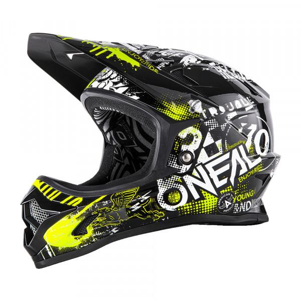 Backflip RL2 Attack DH Helm - black/neon yellow