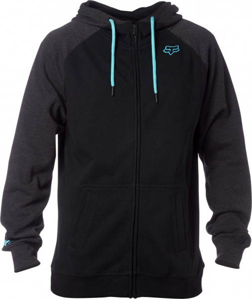 Recoiler Zip Fleece - Black