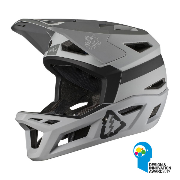 Full Face Helm DBX 4.0 Super Ventilated - Grau