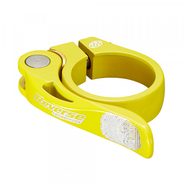 Long Life Sattelklemme 34,9mm - yellow
