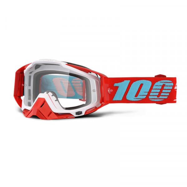 Racecraft Goggle Anti Fog Clear Lens - Kepler