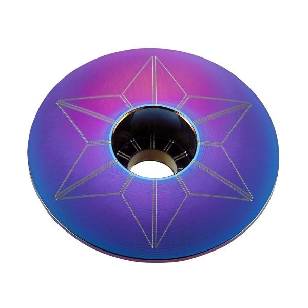 Star Cap Aheadkappe - Petrol Purple