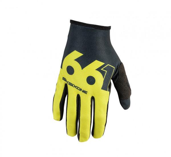 Comp Slice Handschuh - chartreuse/black