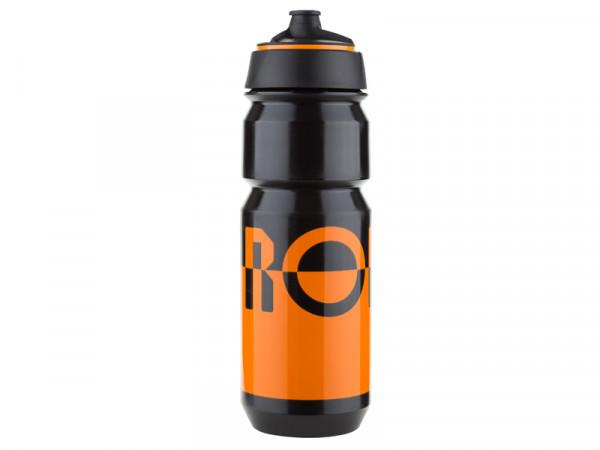 Bidon Trinkflasche 750ml - orange/black - 2 Flaschen