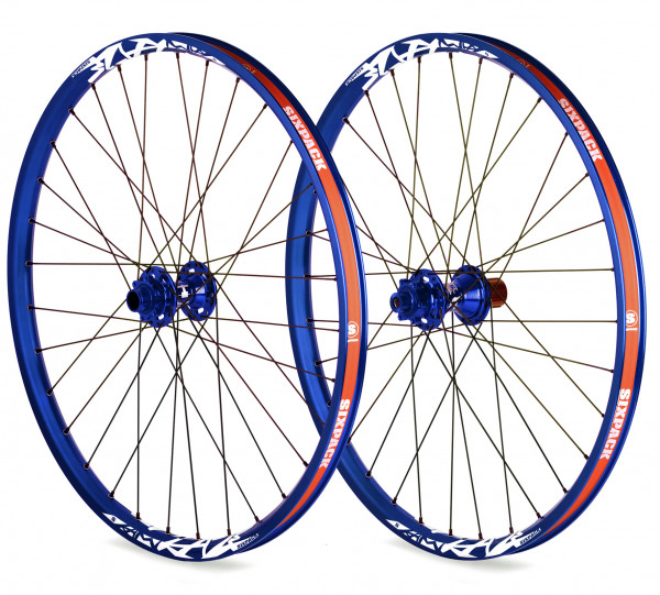 Vice DH Laufradsatz 26 Zoll 20/150mm - blau