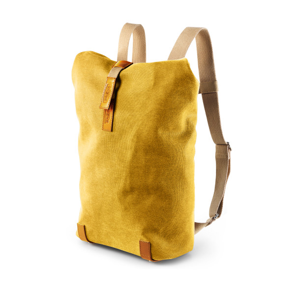 Pickwick Canvas Rucksack - small - curry/ochre