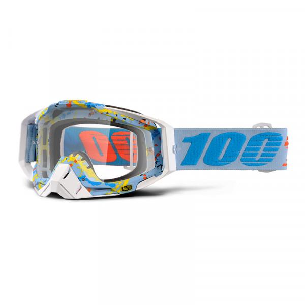 Racecraft Goggle Anti Fog Clear Lens - Hyperloop