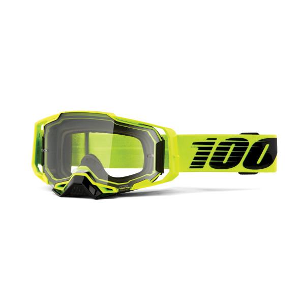 Armega Goggle Anti Fog - Grün - Klar