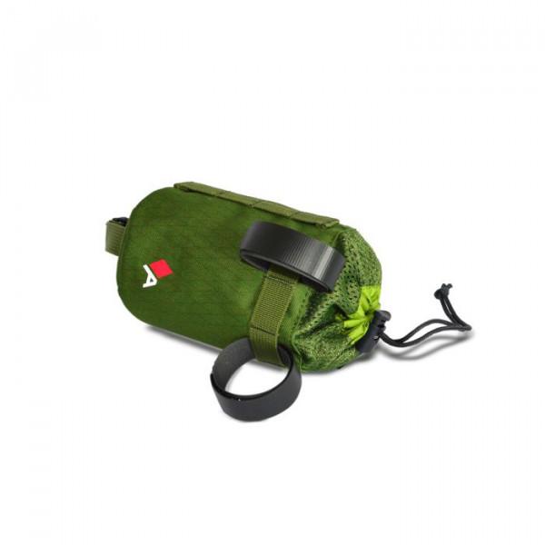 Bike Bottle Bag Holster - green