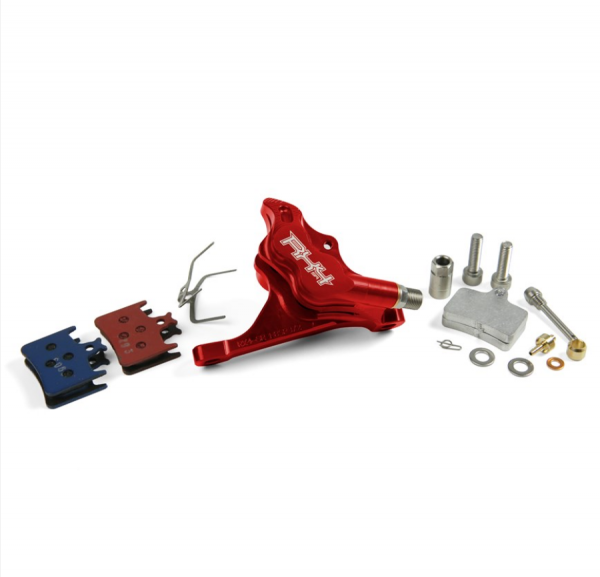 RX4 Bremssattel Flatmount Complete vorn - Sram - Rot