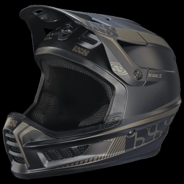 Xact Fullface Helm - black/gun metal