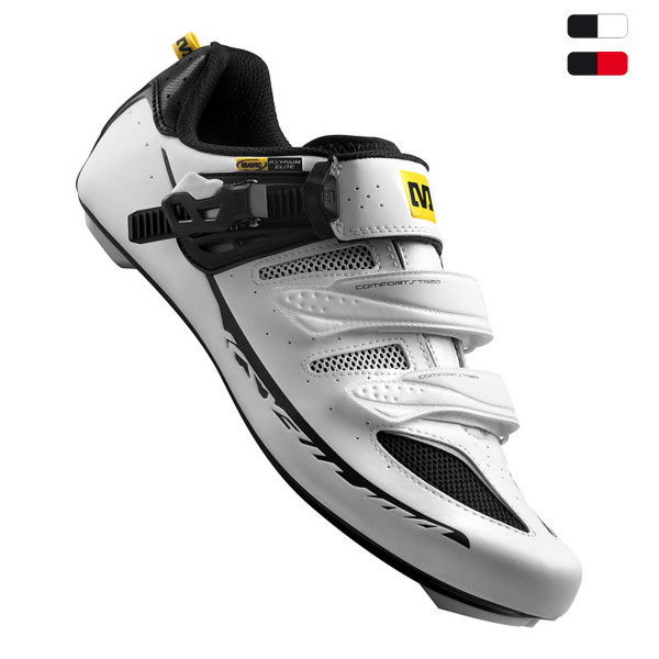 Ksyrium Elite Schuh - white/black