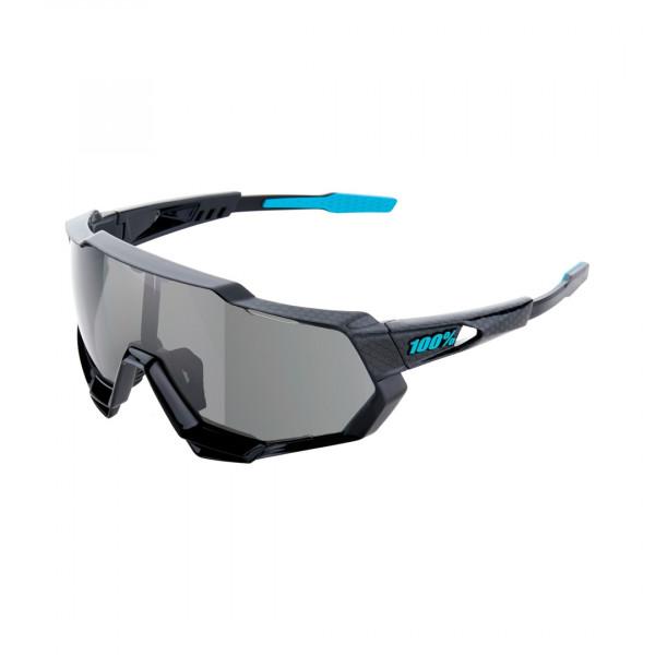 Speedtrap Sportbrille -  Mirror Lense - Polished Black / Graphic