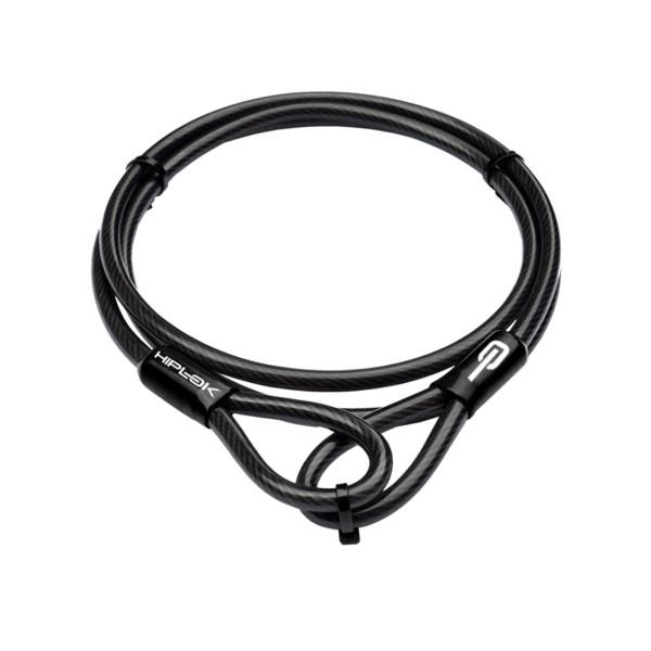 Kabelschloss aus Stahl - Schwarz