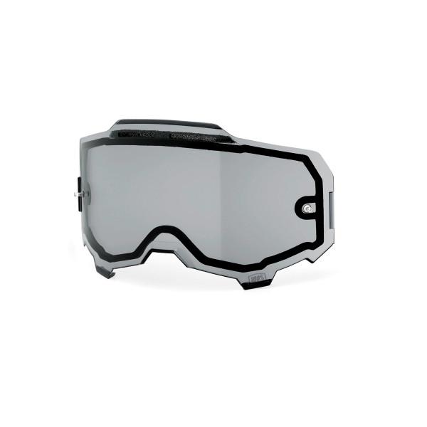 Armega Dual Panel Anti-Fog Ersatzlinse - Grau