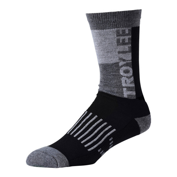Performence Crew Socken - Block Black