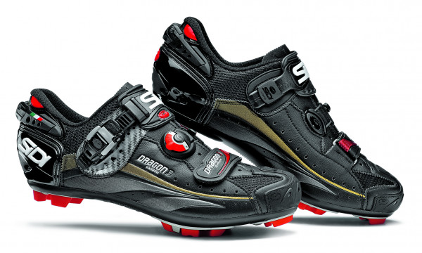 Dragon 3 Carbon SRS MTB Schuhe - schwarz