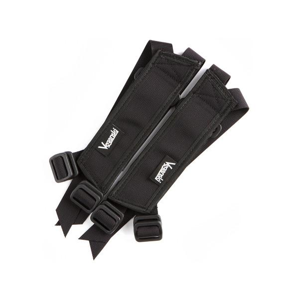 V3 Pedal Straps - black