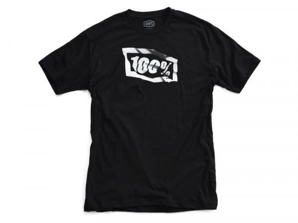Flaggen Jugend T-Shirt - schwarz