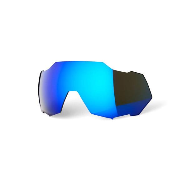 Speedtrap Ersatzlinse - Electric Blue Mirror