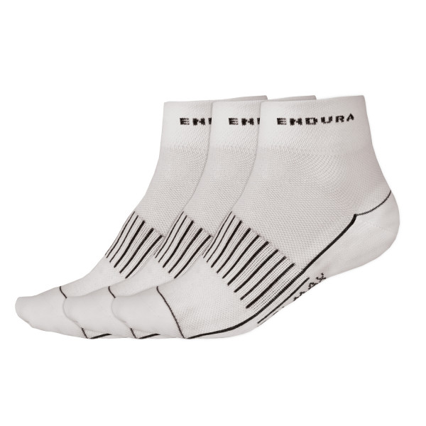 Coolmax Race II Socken (Dreierpack) white