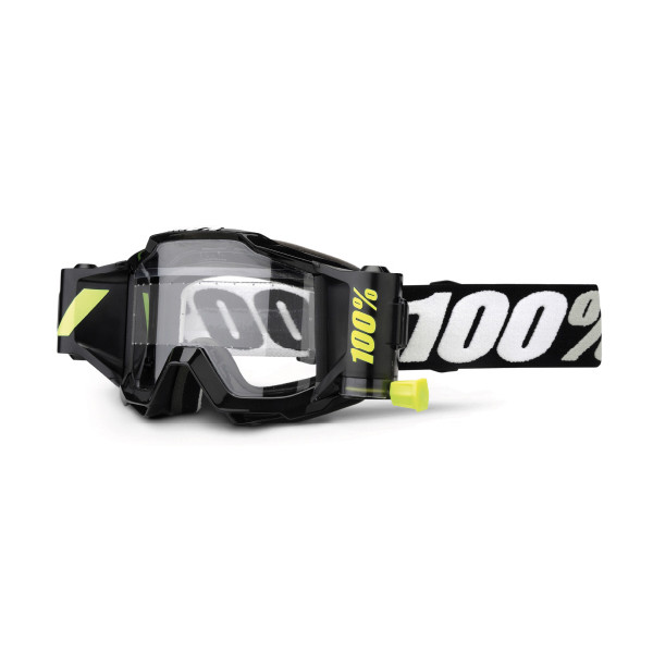 Accuri Goggle inkl. Forecast Tear-Off System - black tornado
