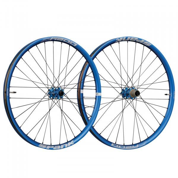 Oozy Trail 345 Laufradsatz 27,5 Zoll - blau