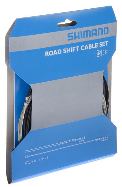 Schaltzug-Set Road SIS-SP40 - schwarz