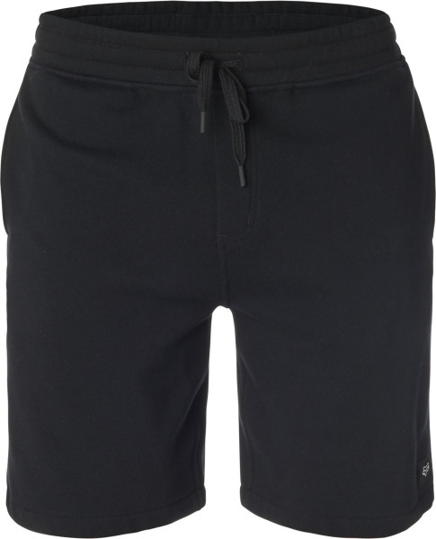 Lacks Fleece Short - Schwarz